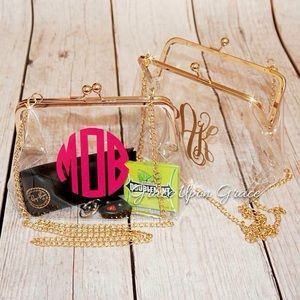 NFL & College Clear Game Day Purses